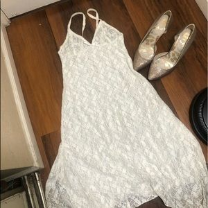 Amour Boutique White Lace Sleep Wear XS